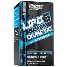 Nutrex Lipo 6 Black Diuretic 80 caps