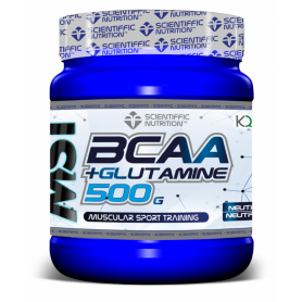 Scientiffic Bcaa + Glutamine  Scientiffic Nutrition