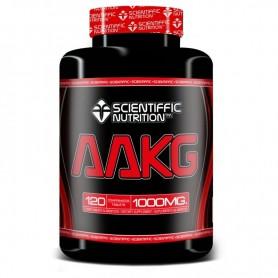 Scientiffic Nutrition AAKG (120 capsulas)