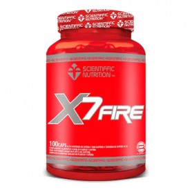 X7 FIRE 100 CAPS SCIENTIFFIC NUTRITION