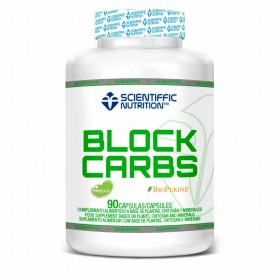 SCIENTIFFIC NUTRITITION  BLOCK CARBS 90 CAPSULAS
