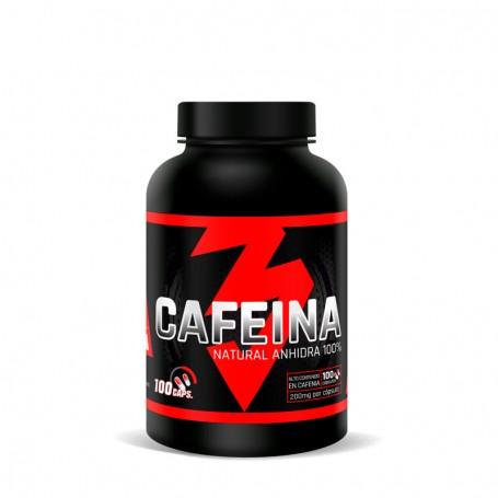 CAFEINA NATURAL ANHIDRA 100 capsulas 200mg