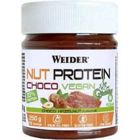Weider NutProtein Choco Vegan Spread Crunchy 250 gr Crema de Chocolate