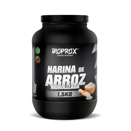 Harina de ARROZ  Hidrolizada Instantánea