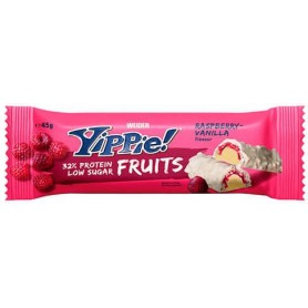 Weider Yippie Fruits Bar 1 Barrita X 45 Gr