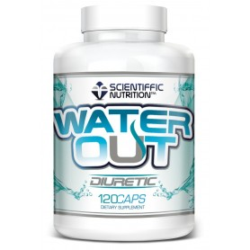 Water Out (120 Capsulas) Scitiffic Nutrition