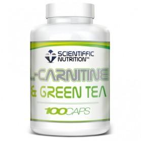 L- Carnitina & Green Tea (100 Capsulas) Scientiffic