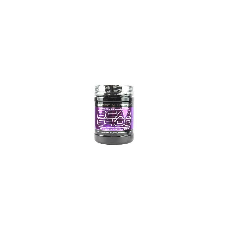 Scitec Nutrition BCAA 6400 Aminoácidos ramificados 375 tabs