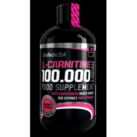 BioTechUSA L-Carnitina 100.000 liquid 500ml