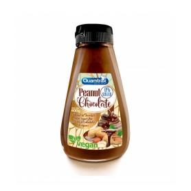 Quamtrax Cream Peanut & Chocolate 0% Sugar 400 gr