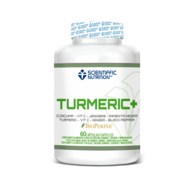 SCIENTIFFIC NUTRITION TURMERIC+ 60Caps