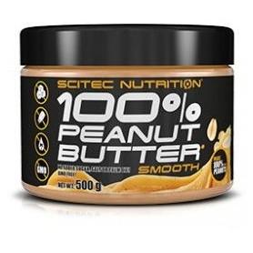 Scitec Nutrition 100% Peanut Butter - Mantequilla de Cacahuete 500 gr