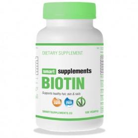 Biotina 5000mcg - 100 cápsulas vegetales