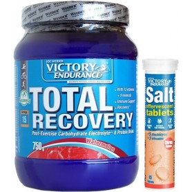 Pack Victory Endurance Total Recovery 750 gr + Salt Effervescente 1 tubo x 15 comp