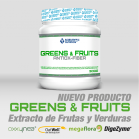 Greens & Fruits - Scientiffic Nutrition