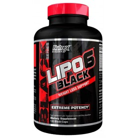 Nutrex Lipo 6 Black 120 caps NEW